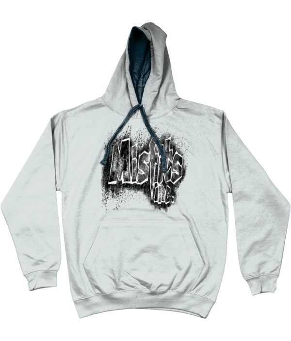 Misfits Inc Hoodie, Hooded Top, Hooded Sweater, Grey Hoodie, Hoodies, Stencil Design,