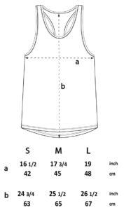 womens razerback vest size guide